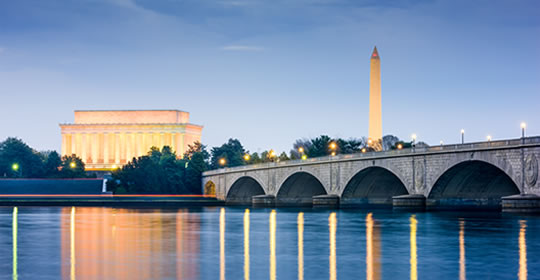 Image of Washington, D.C. monuments