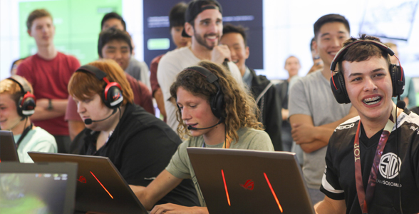 Gaming league events at Microsoft Store