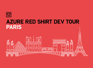 Azure Red Shirt Dev Tour Paris