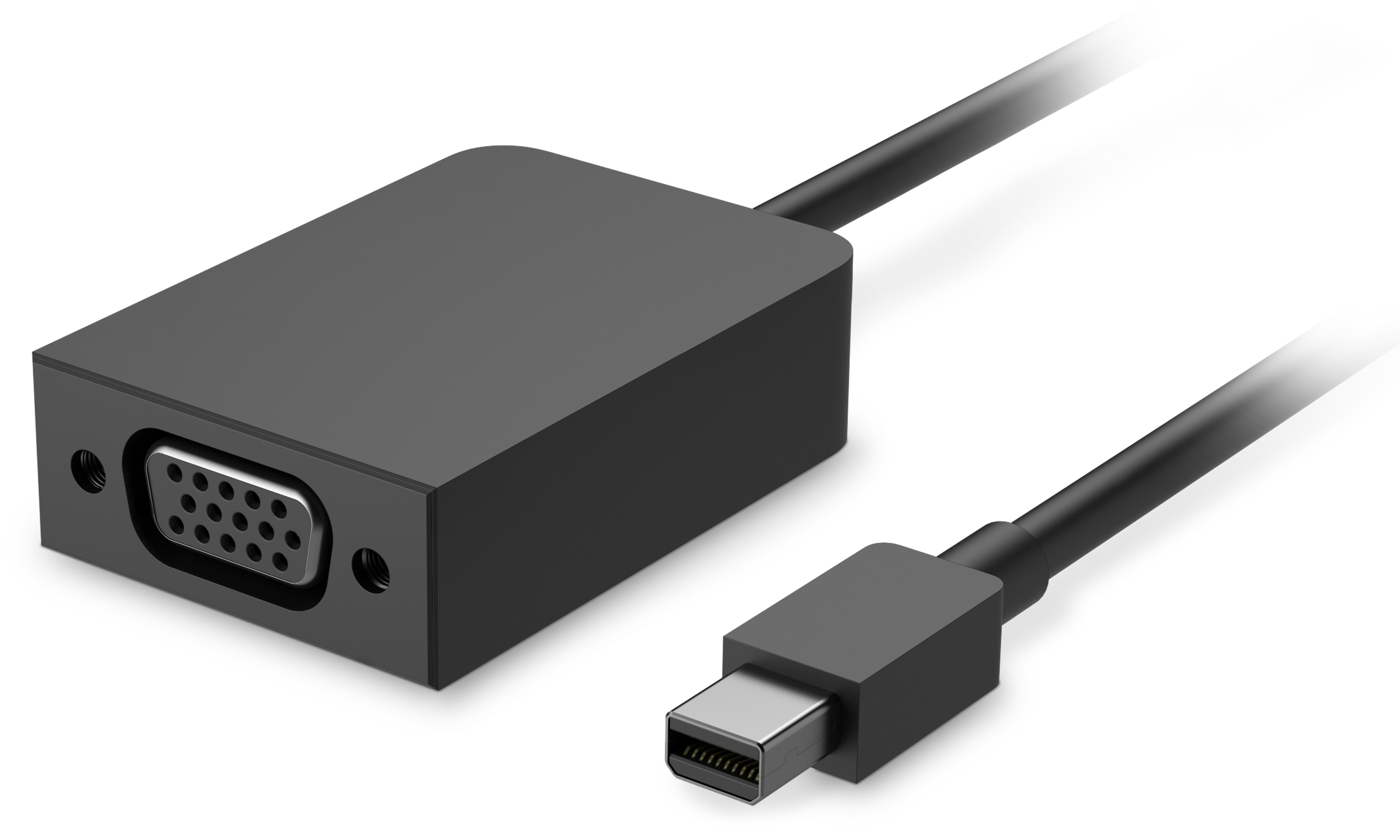 Surface Mini DisplayPort to VGA Adapter Designed for Surface, this proprietary VGA adapter lets you share photos, video, and presentations in a way that's larger than life.