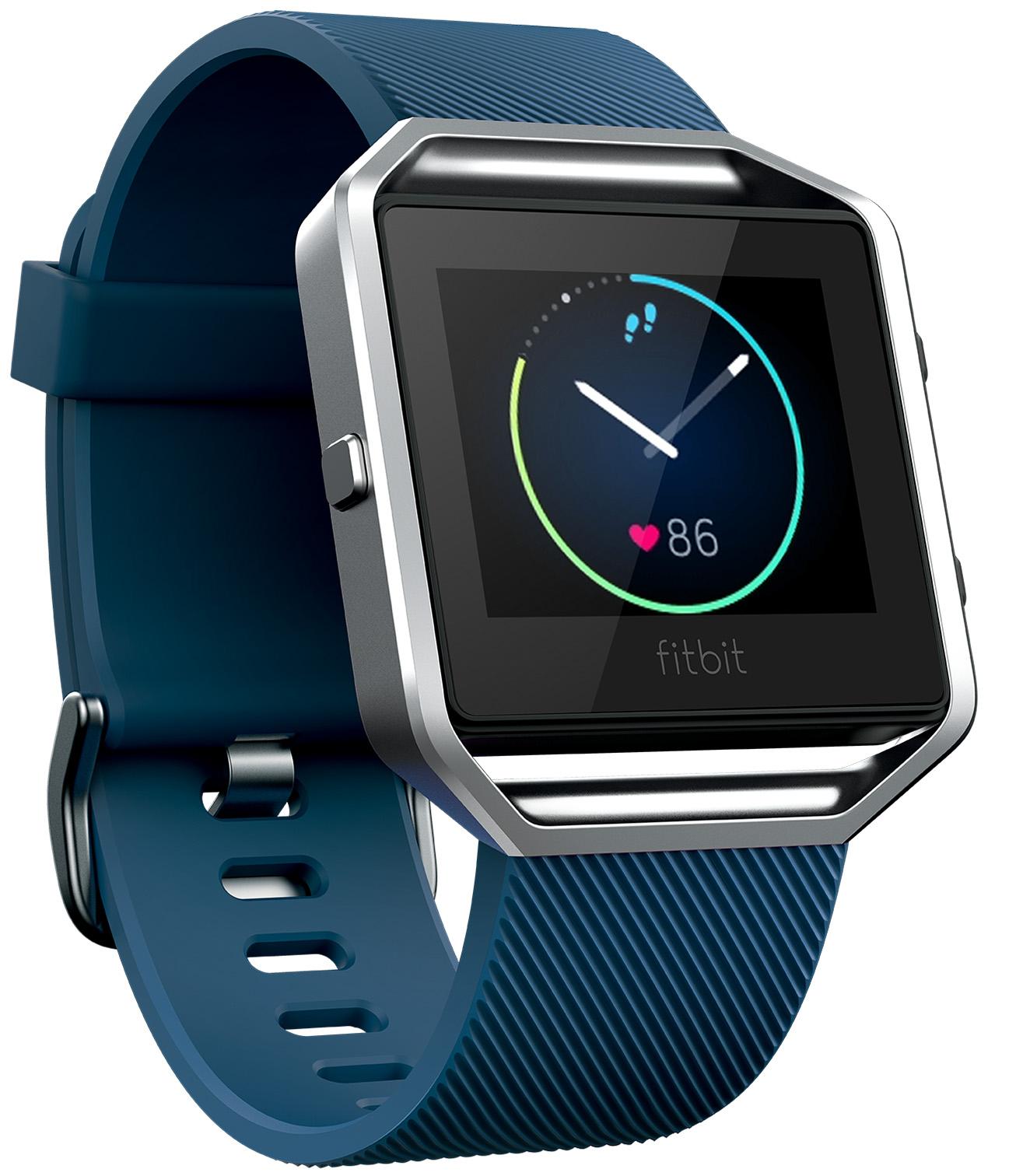 Fitbit Blaze Smart Fitness Watch (Blue) - Large Deal