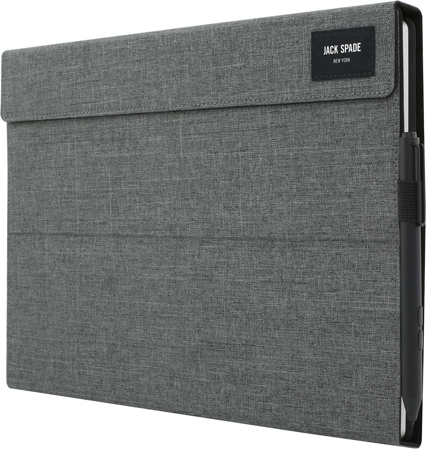 Jack Spade Wrap Folio for Surface Pro (Tech Oxford Gray)