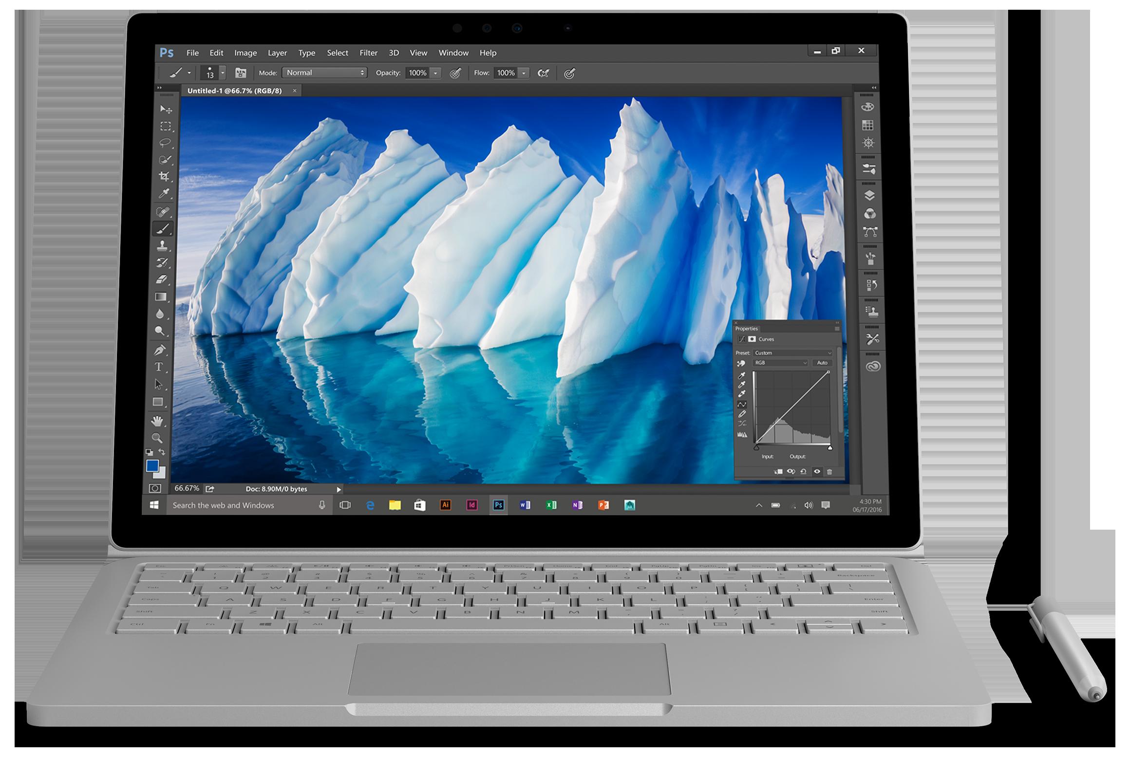 Bild Surface Book mit Performance Base -  256GB / IntelCorei7