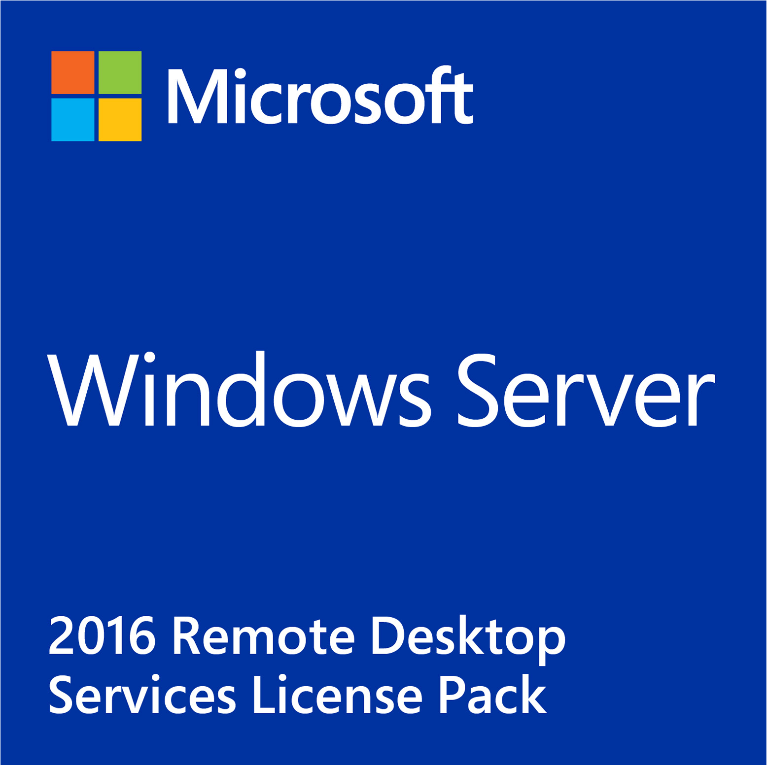 Windows Server 2016 Remote Desktop Services 1-Device CAL