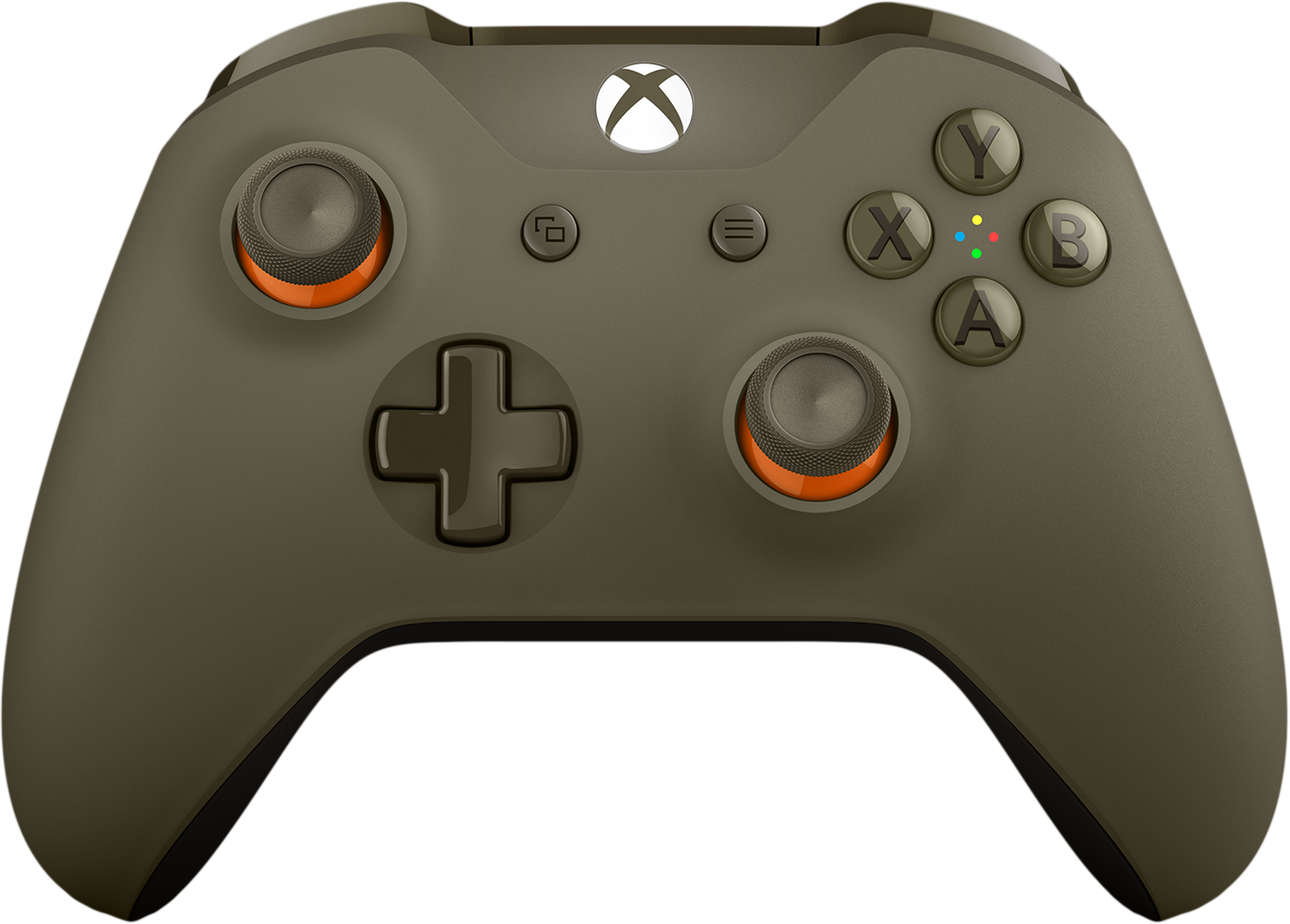 Xbox Wireless Controller - Green/Orange