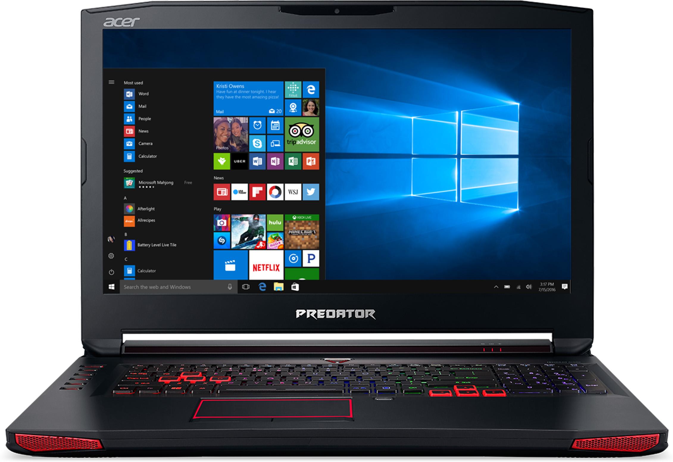 Acer Predator 17 G9-793-76KV Signature Edition Gaming Laptop Deal