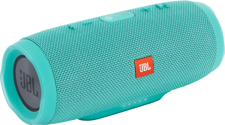 RE1oTDU?ver=046e - JBL Charge 3 Waterproof Portable Bluetooth Speaker (Teal)