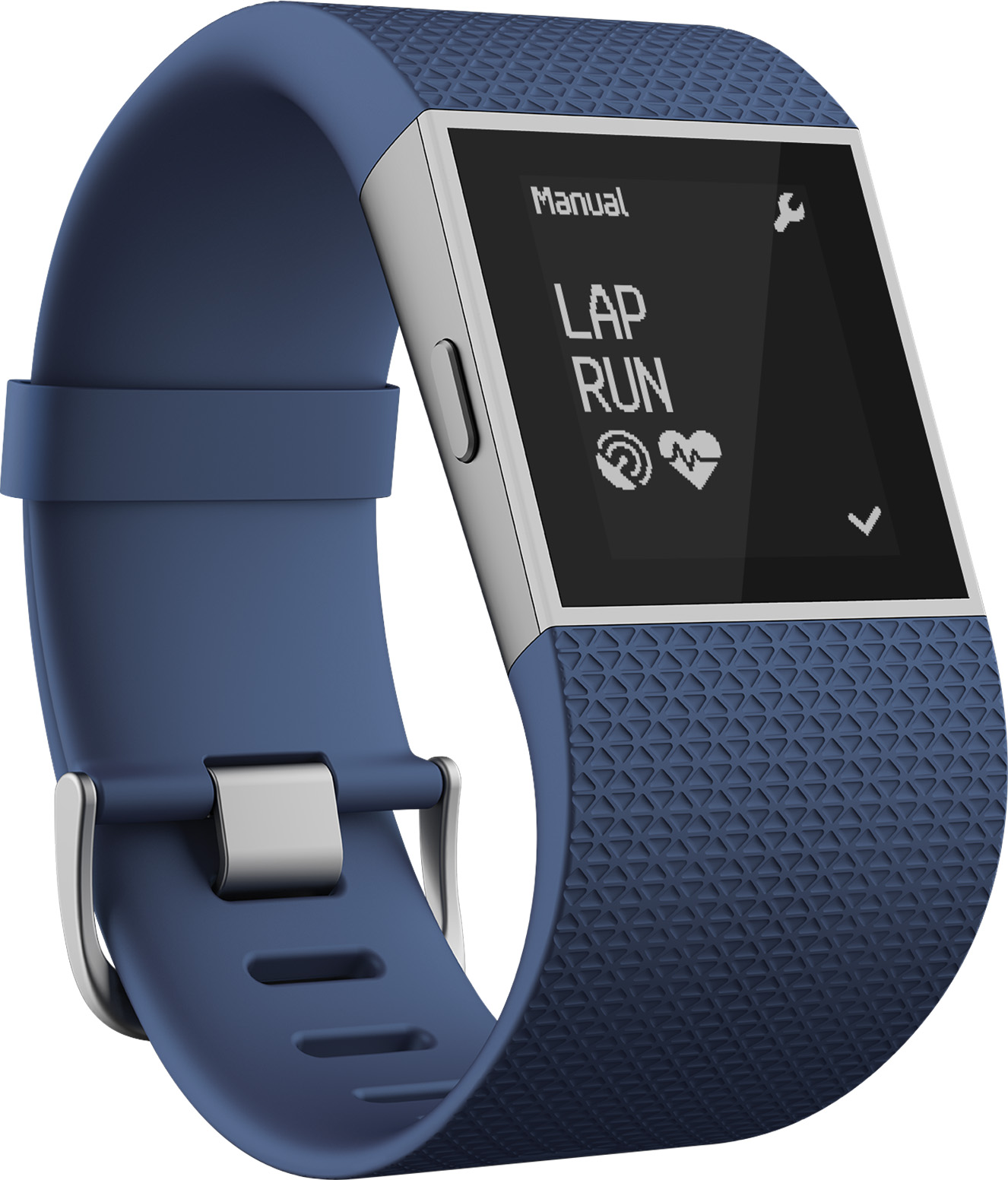 Fitbit Surge Fitness Super Watch (Blue) - Large Deal