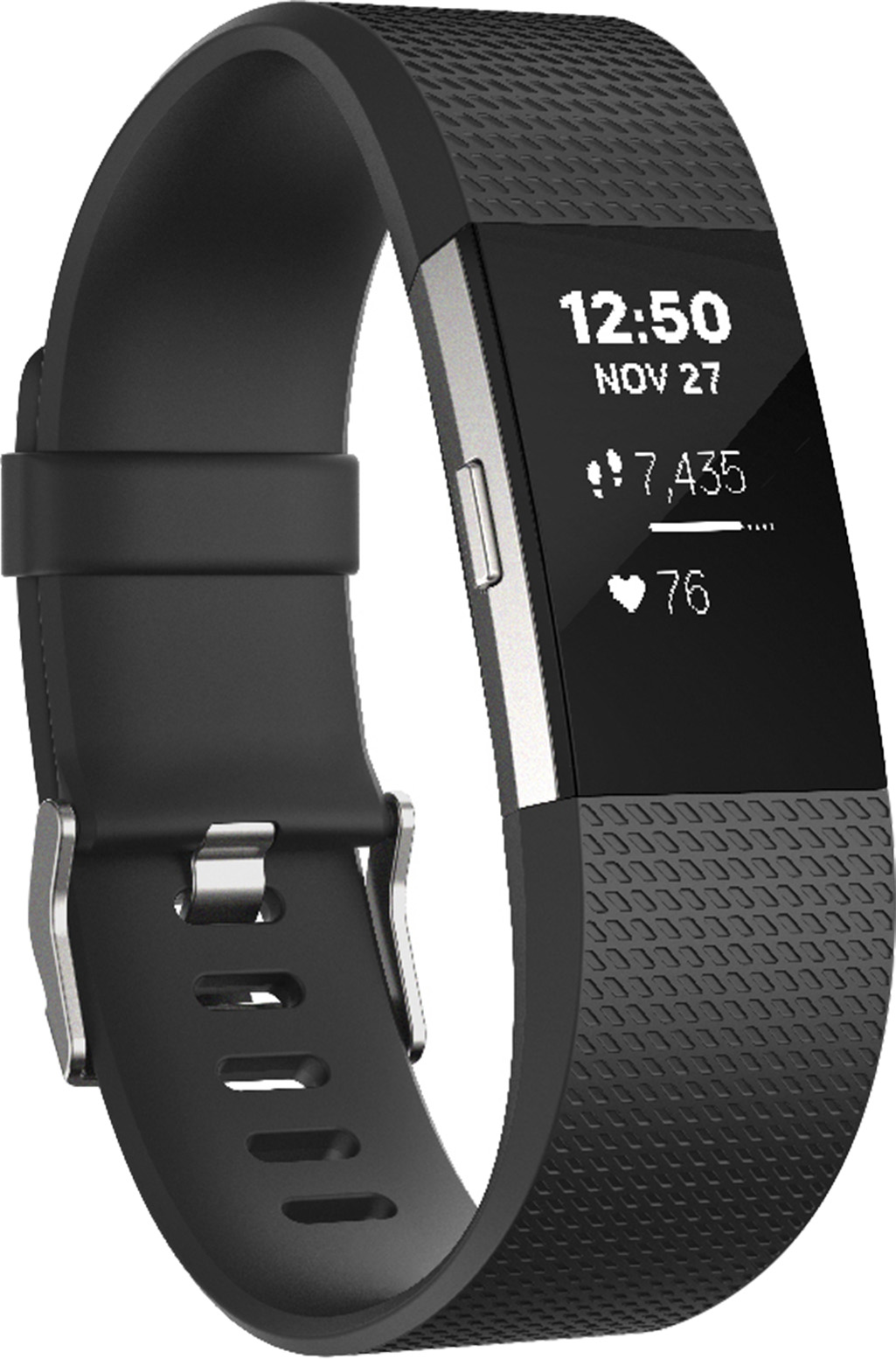 Fitbit Charge 2 Heart Rate and Fitness Wristband (Large)