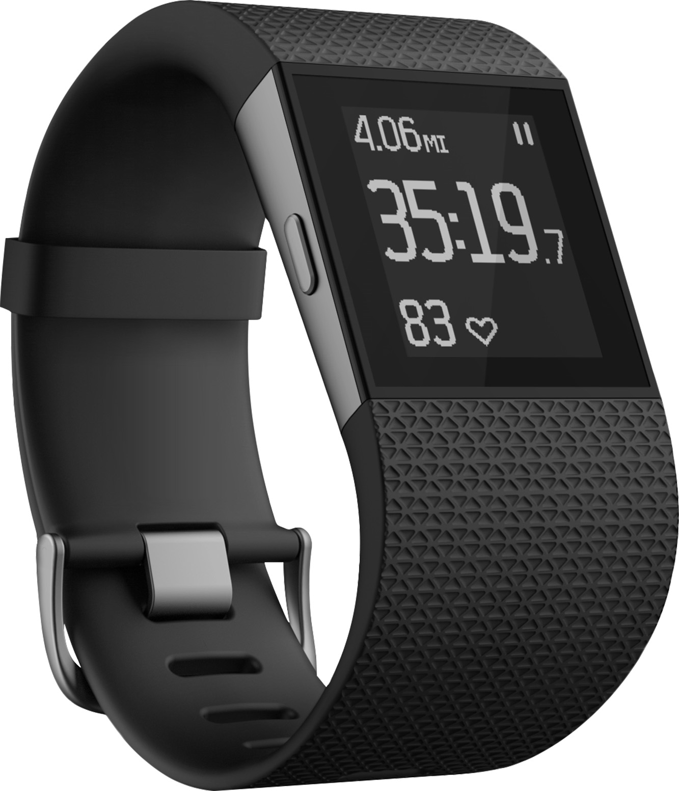 Fitbit Surge Fitness Super Watch (Black) - Small Deal