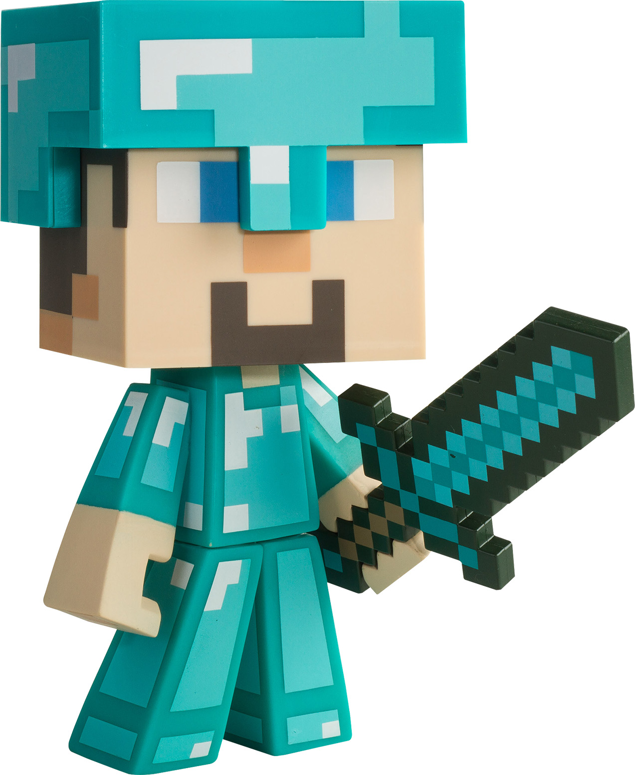 Minecraft Diamond Steve Vinyl Figure DHF-01680