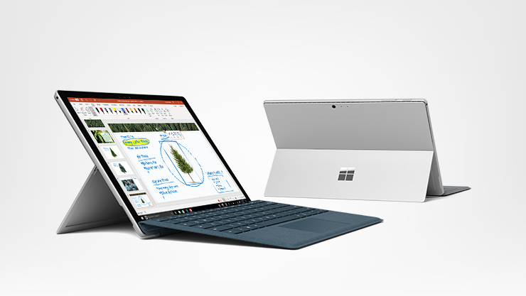 Microsoft Surface Pro Intel Core i5 mit Typce Cover nach Wahl