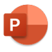 PowerPoint logo, learn more about PowerPoint
