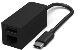Surface USB-C to Ethernet and USB Adapter