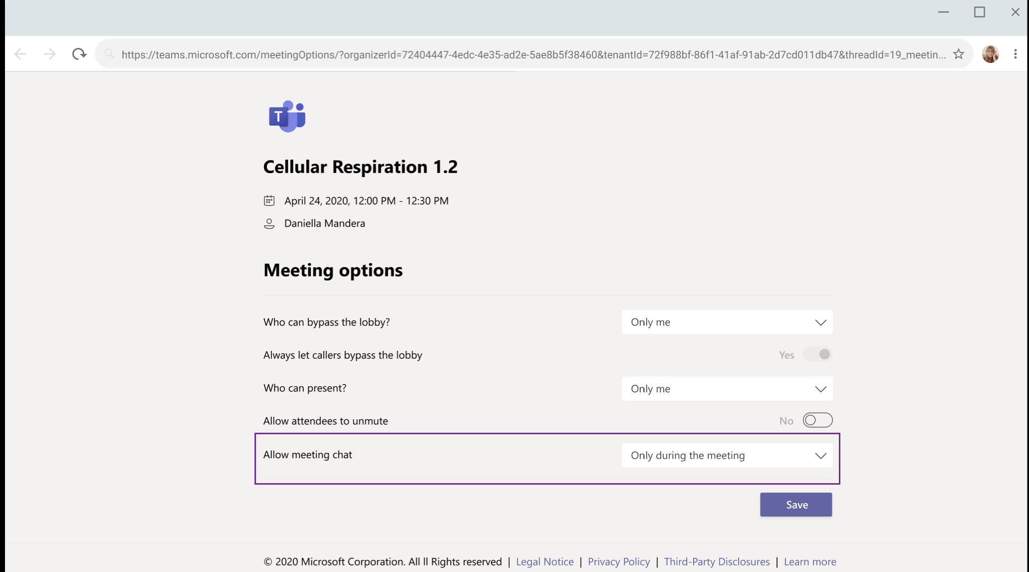 Microsoft will soon allow meeting organizers to mute chat during Teams meetings OnMSFT.com October 16, 2020