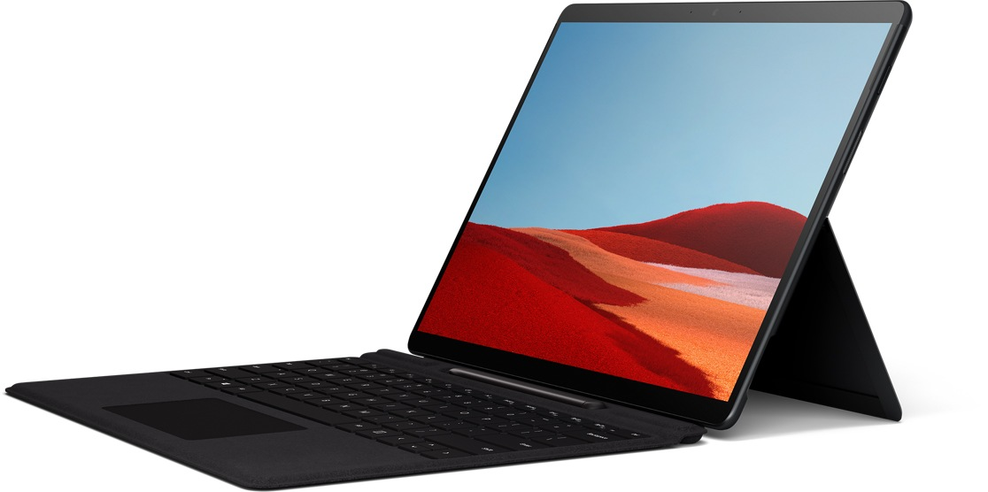 Surface Pro X with Signature Type Cover and Slim Pen