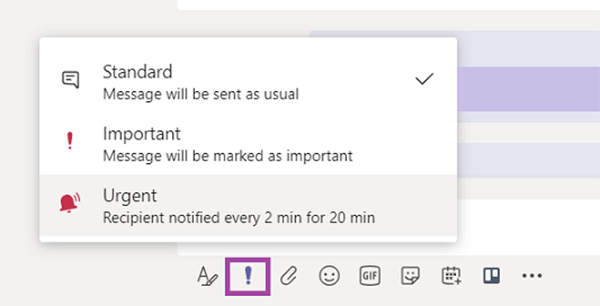 Priority notifications
