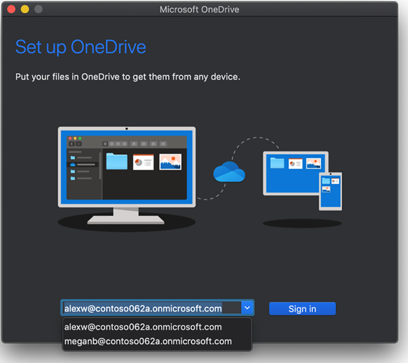 Office 365 New Feature: New Authentication method for OneDrive on MacOS |  Cloud Consultancy