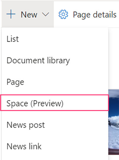 build a SharePoint space