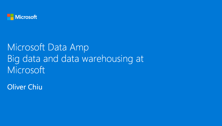 Transform traditional data warehouse with cloud and big data video thumb