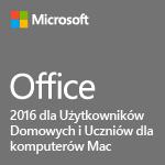 Office 2016 dla Użytkowników Domowych i Uczniów dla komputerów Mac