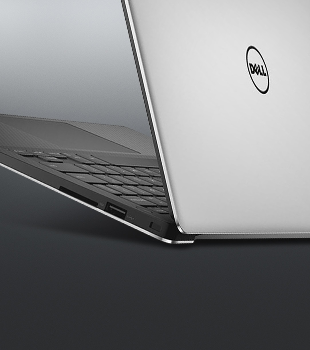 A partial image of the Dell XPS 15