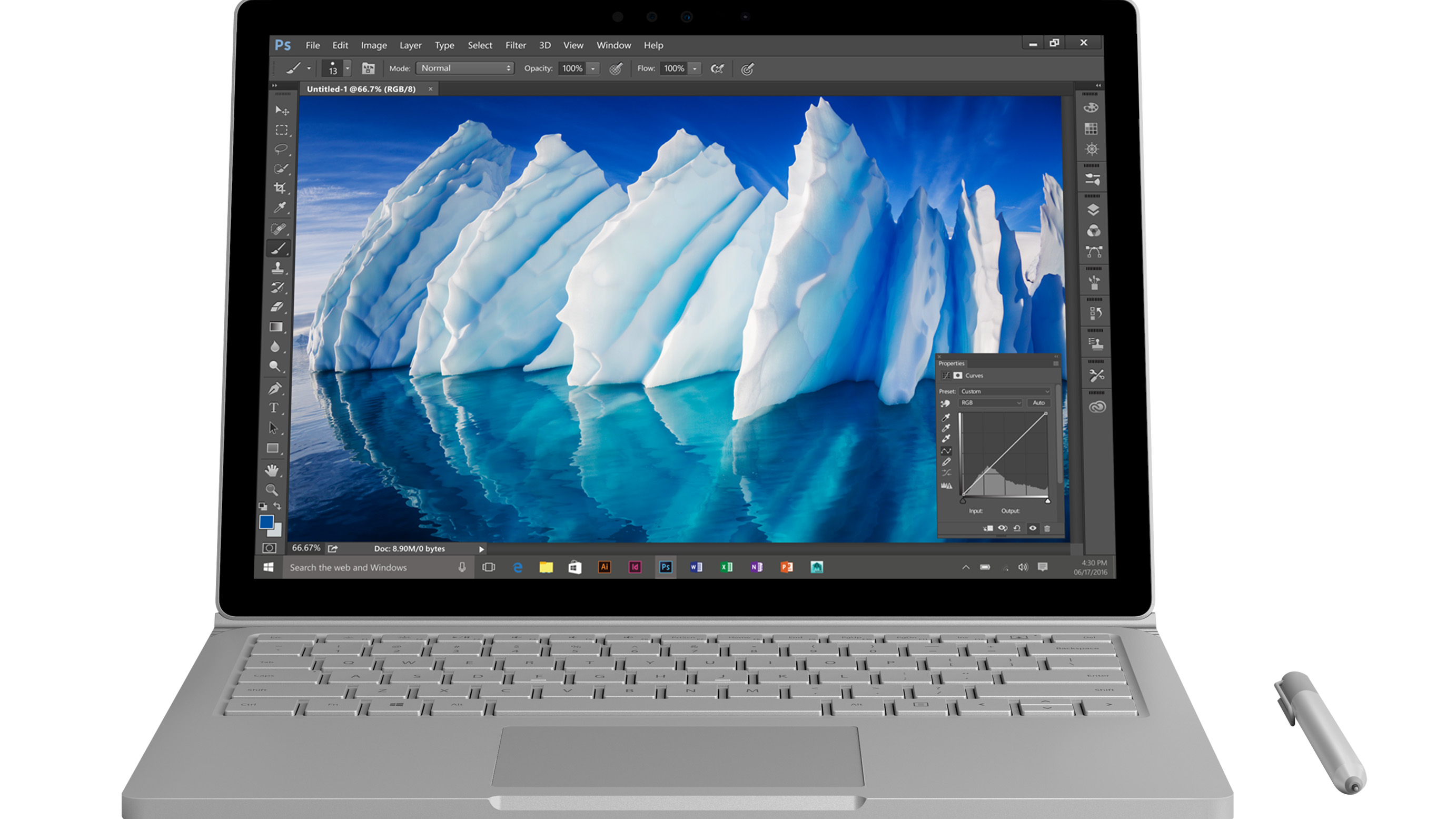 Microsoft Surface Book 256GB i7 8GB GPU2 Commercial