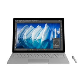 Microsoft Surface Book 256GB i7 8GB GPU2 Commercial