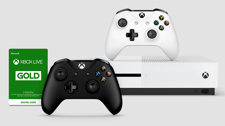 Sale offer for Xbox Gold