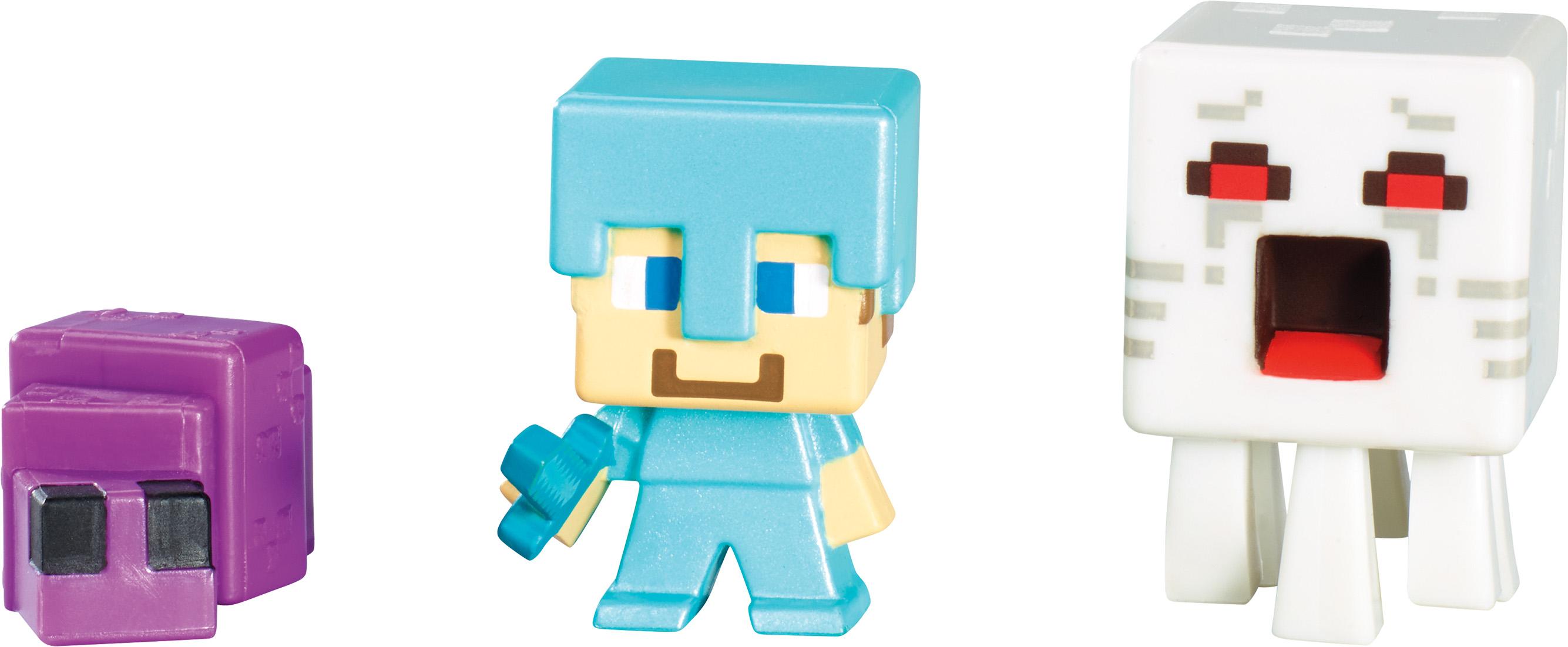 Minecraft Mini Figure 3-Pack L (Series 3) DHF-01623