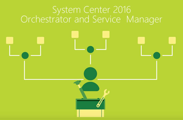System Center 2016 Orchestrator and Service Manager video screenshot.
