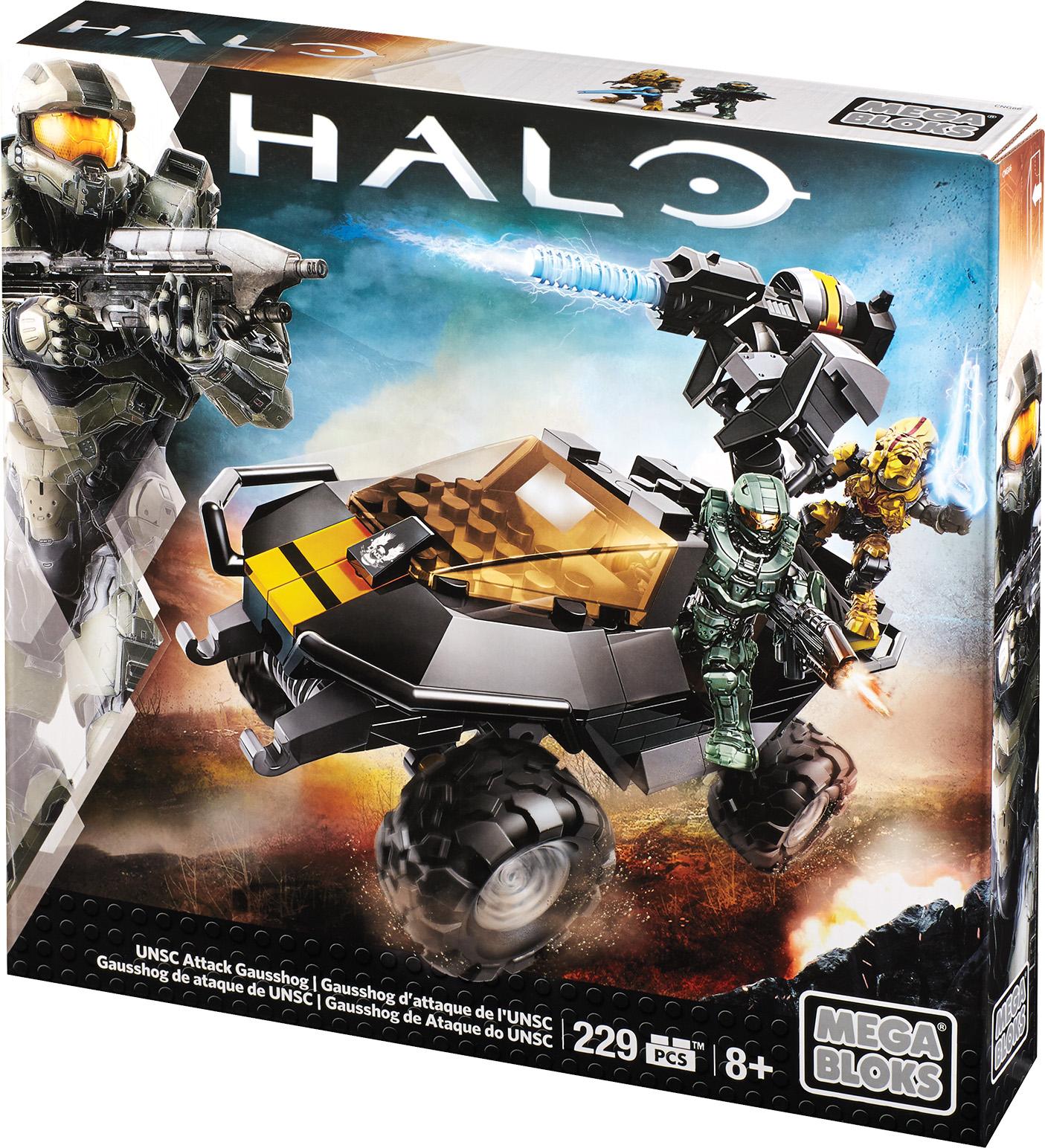Mega Bloks Halo UNSC Attack Gausshog Deal