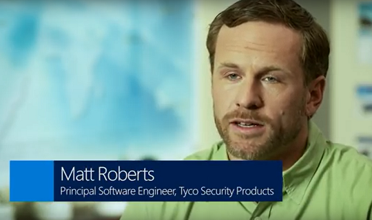Photo of Matt Roberts, Principal Software Engineer, Tyco Security Products.