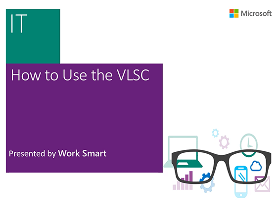 How to use the VLSC