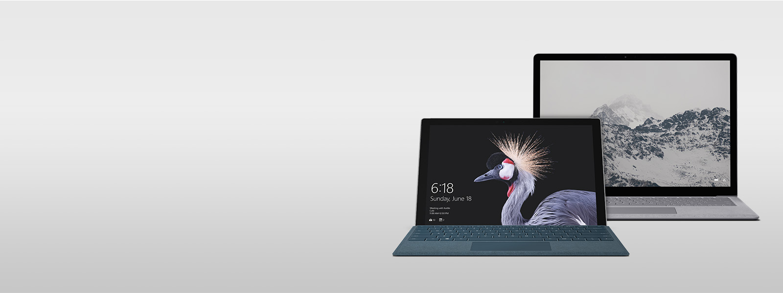 Surface Laptop and the New Surface Pro