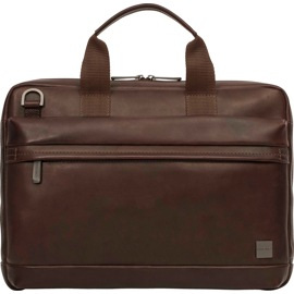 KNOMO Foster 14-Inch Laptop Brown Briefcase