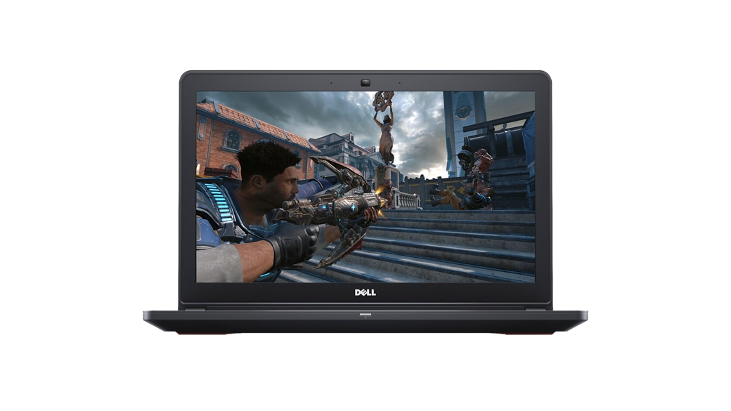 Dell Inspiron 15 playing Gears of War