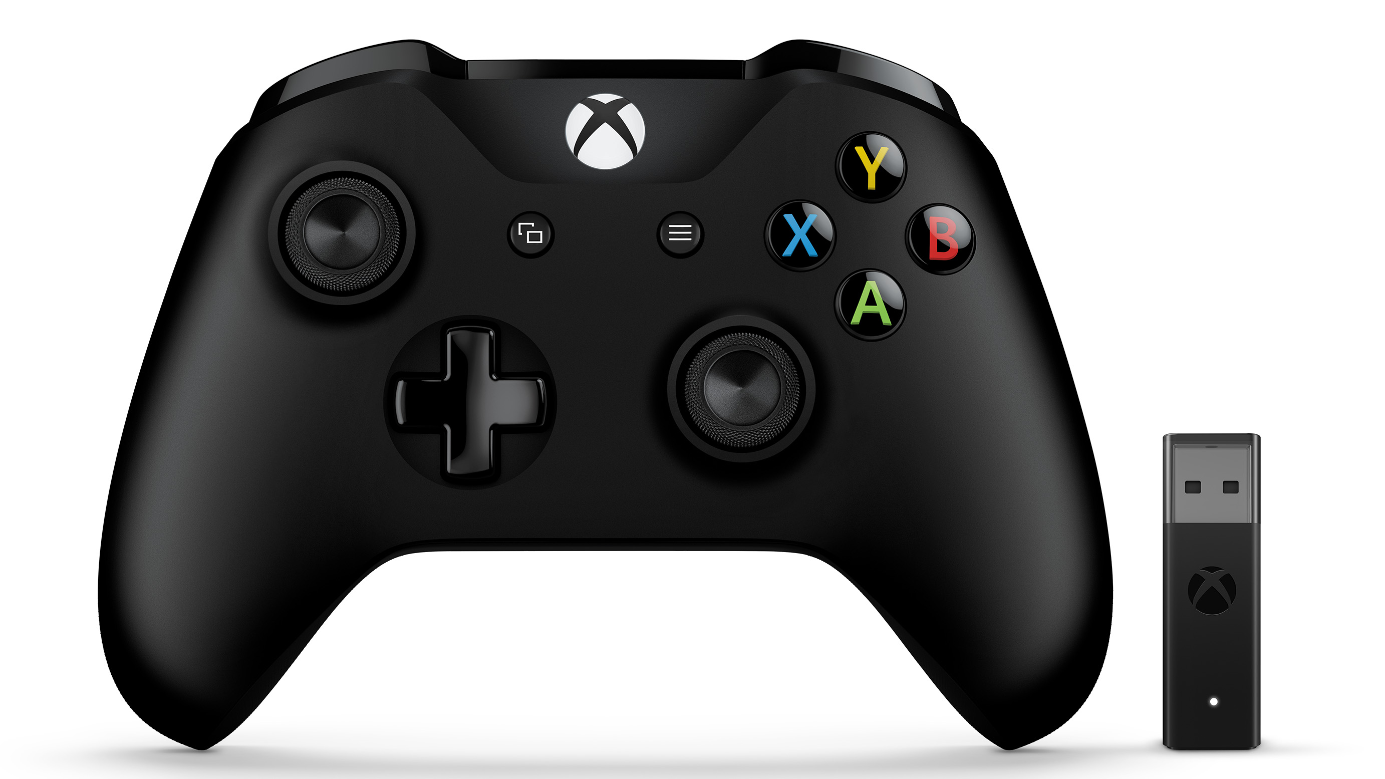 Xbox Controller and Wireless Adapter