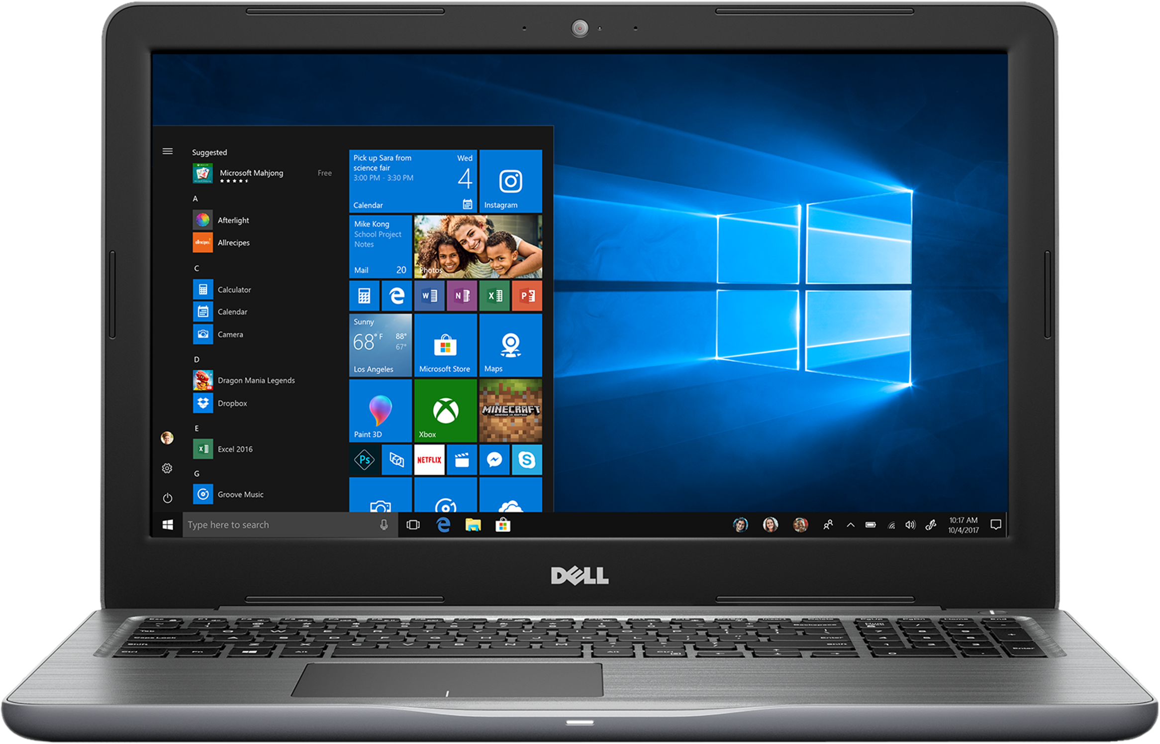 Dell Inspiron 15 i5567-3654GRY Laptop Deal