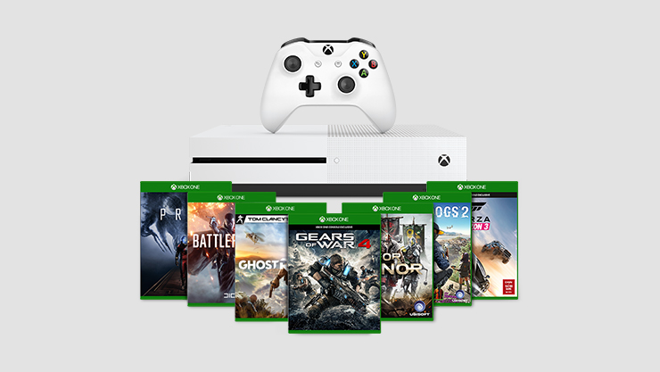 Xbox One S Build a bundle