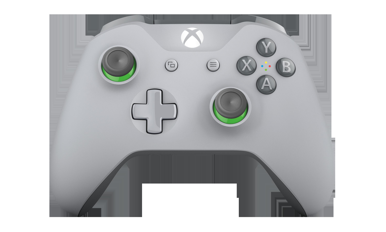 Xbox draadloze controller - Grijs en groen