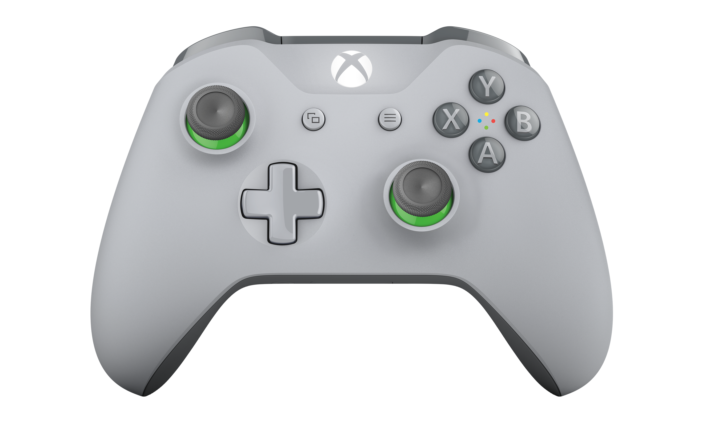 Xbox Wireless Controller - Gray and Green
