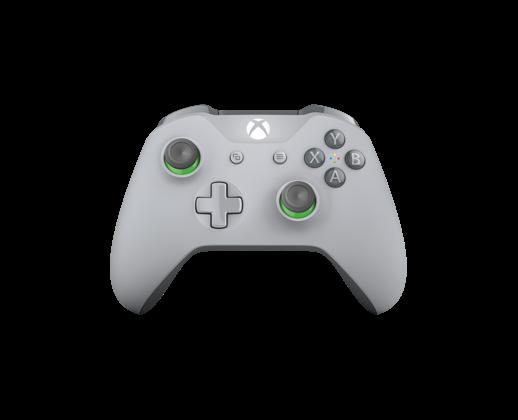 Controller Wireless per Xbox - grigio e verde