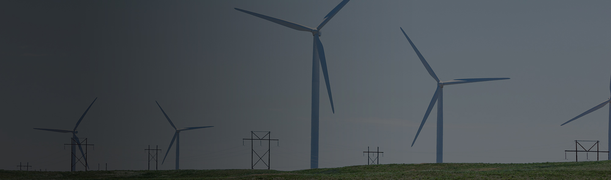 Image of a windmill farm