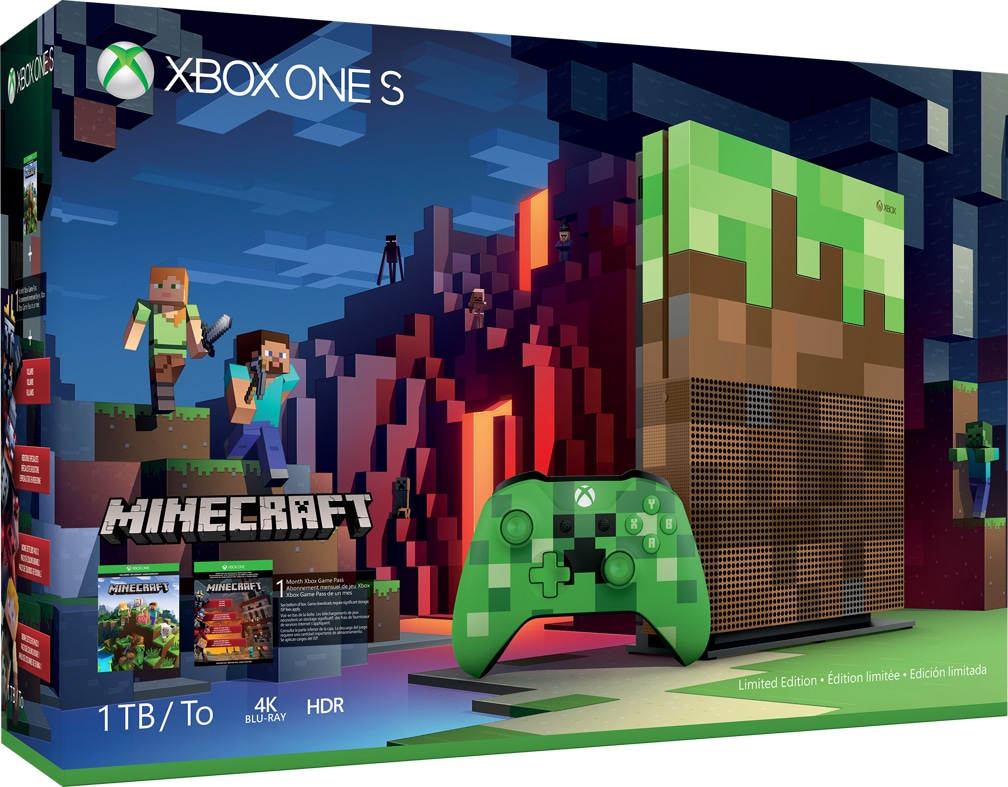 How To Make A Book Minecraft Xbox ~ Xbox one s minecraft limited edition bundle 1tb microsoft