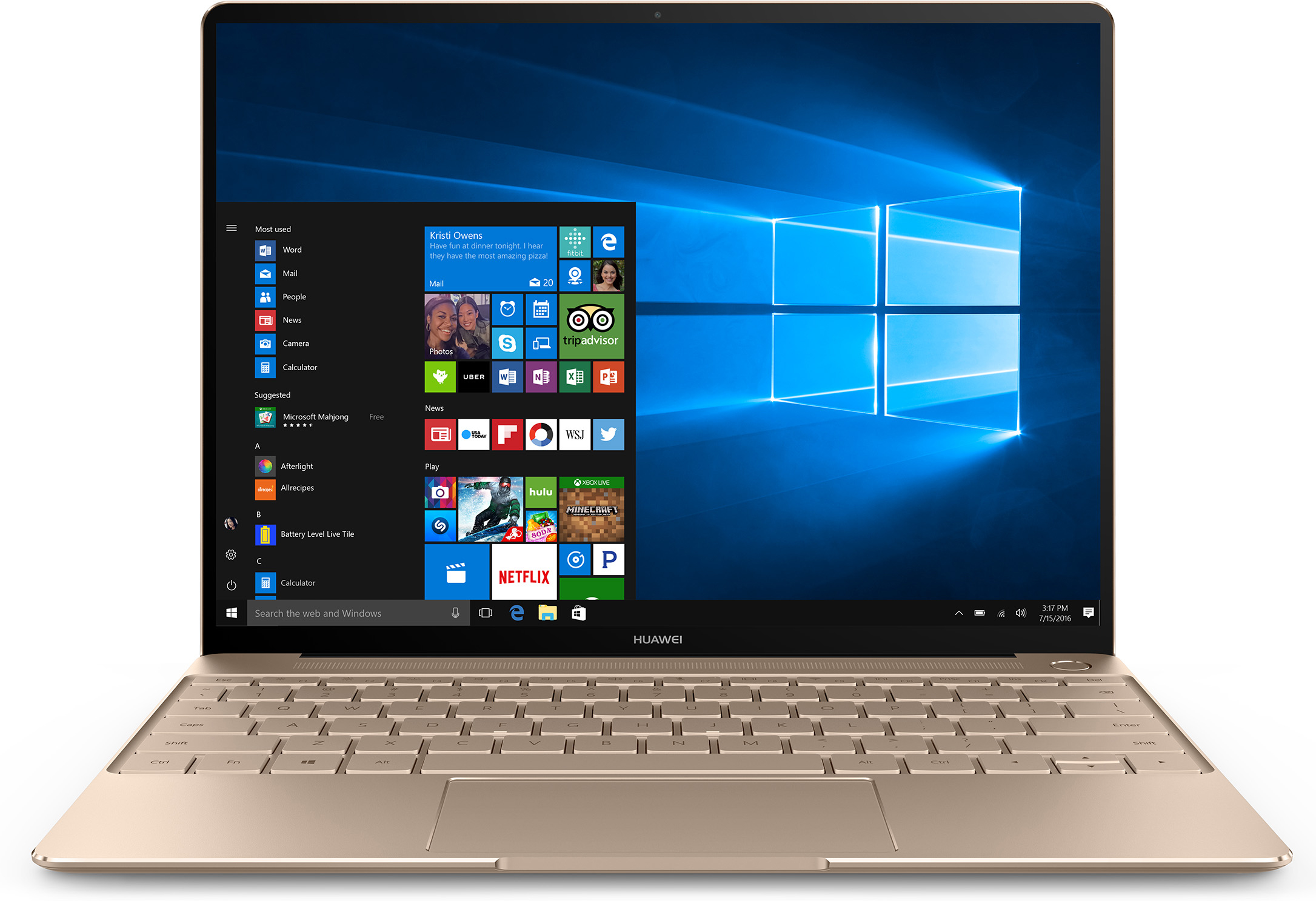 Huawei MateBook X 53018975 Laptop (Prestige Gold) Deal