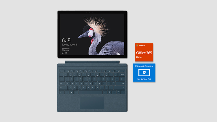 Surface Pro with Office and Complete