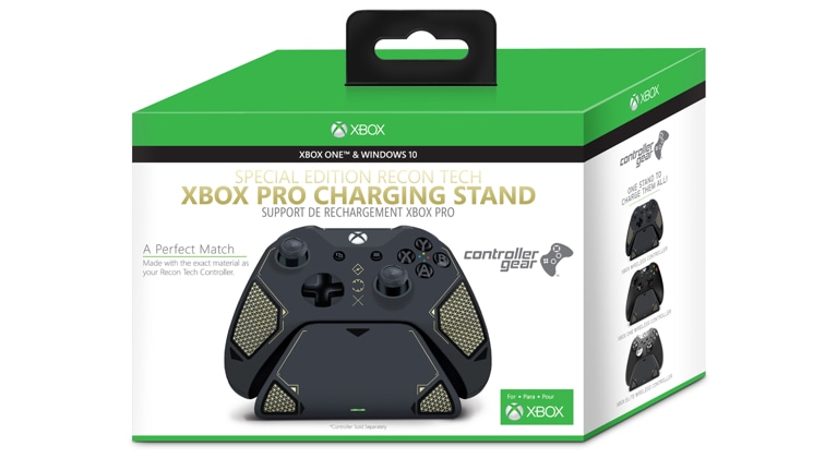 Buy Controller Gear Xbox Pro Charging Stand Recon Tech Special Edition -  Microsoft Store