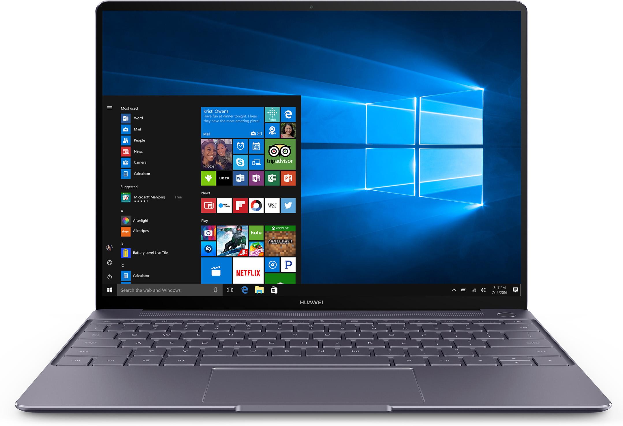 Huawei MateBook X 53018973 Laptop (Space Gray)