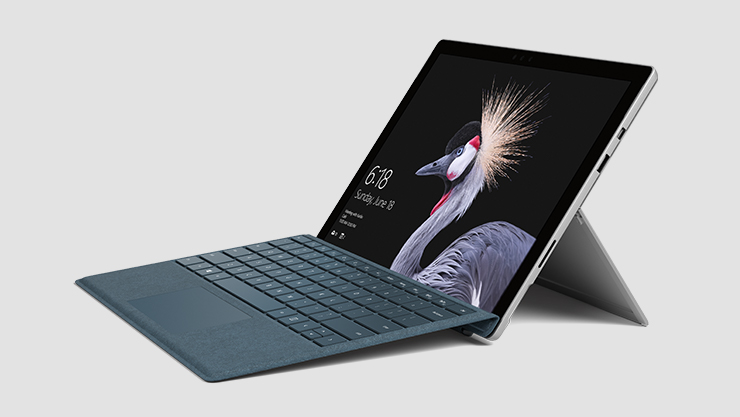 Microsoft Surface Pro with Cobalt Blue Type Cover
